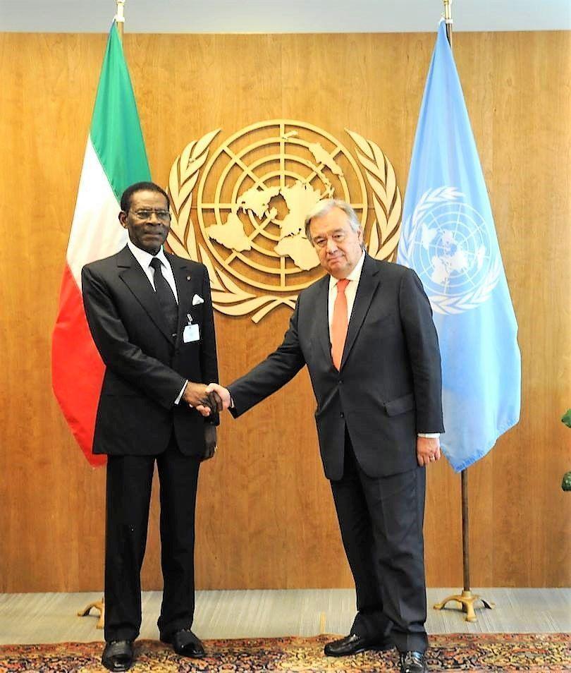Cordial encuentro con el Secretario General de las Naciones Unidas