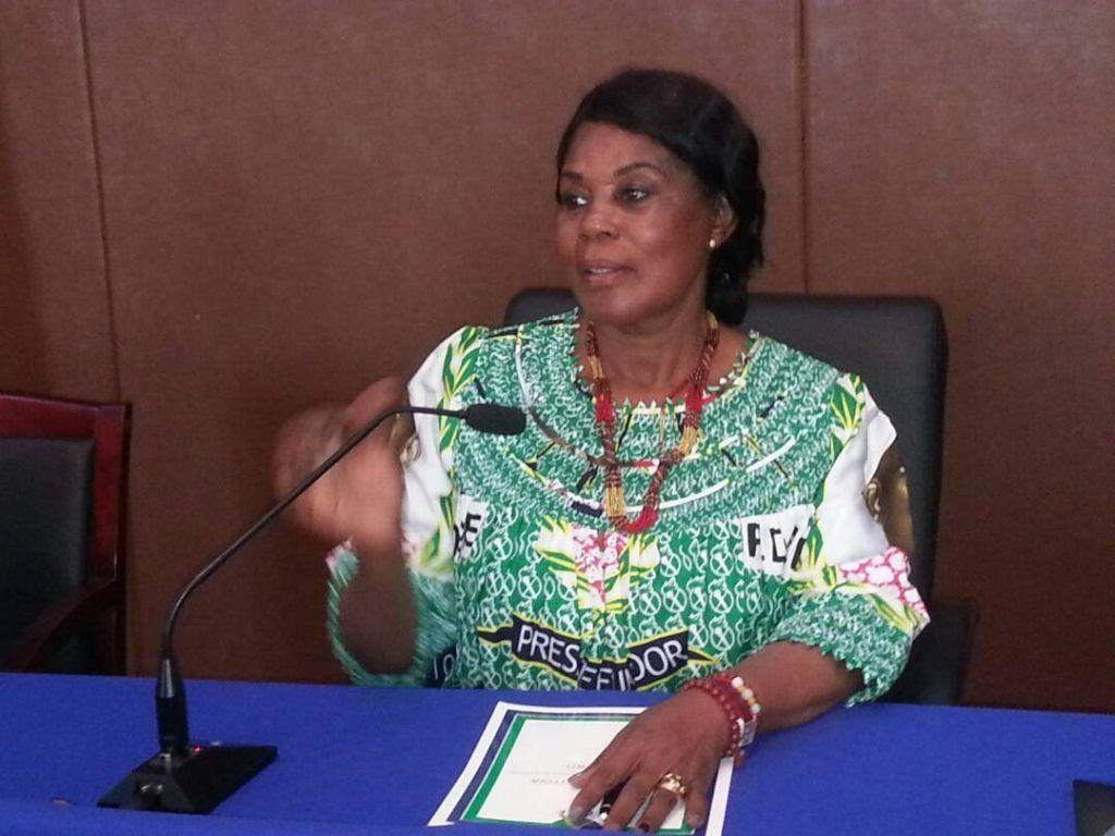 Felicitación de la Vicepresidenta por la aportación de las mujeres de Bata en el VI Congreso del PDGE