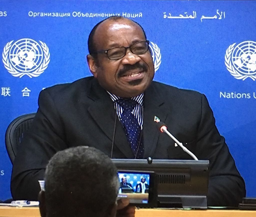 El Embajador en la ONU asiste a la clausura del 71º periodo de sesiones de la Asamblea General
