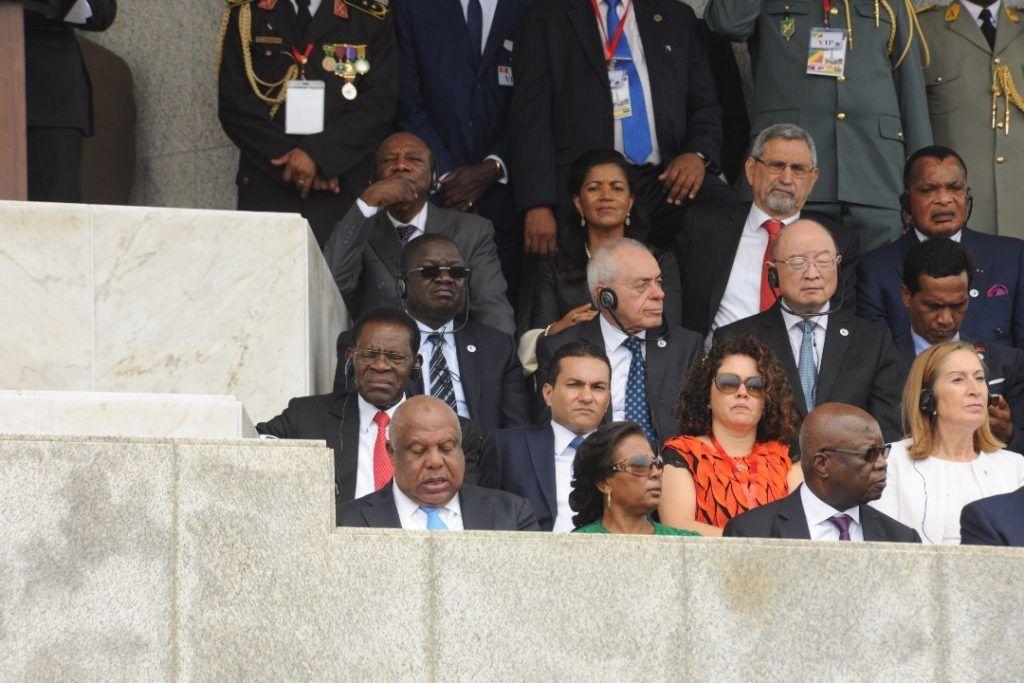 El Presidente asiste a la investidura a la investidura del nuevo Jefe de Estado de Angola
