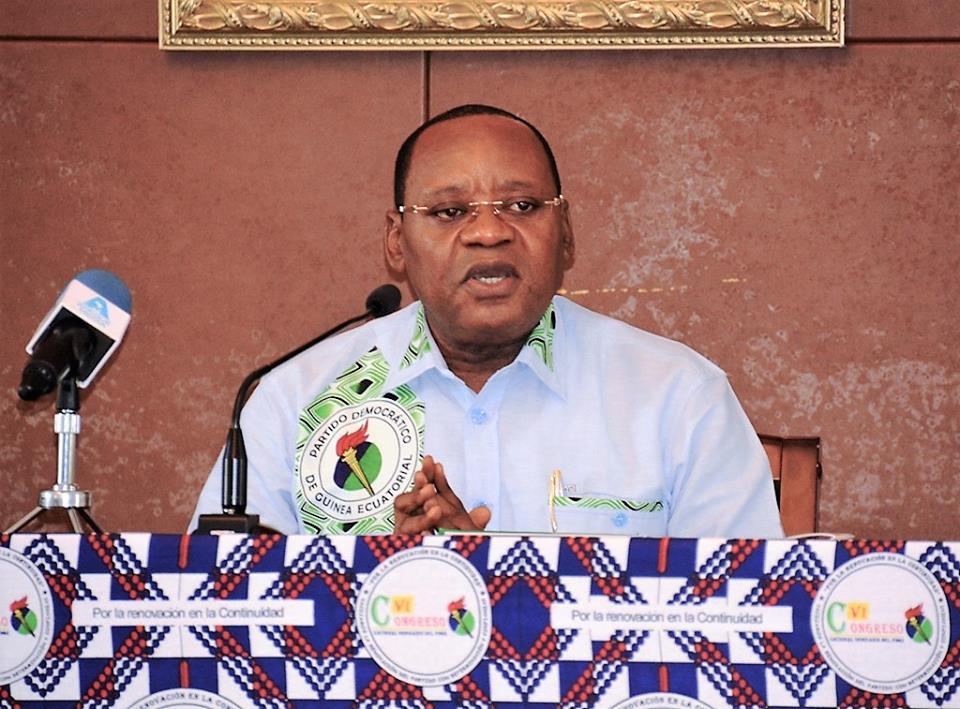 Acto de entrega de los resultados definitivos de las elecciones internas del PDGE