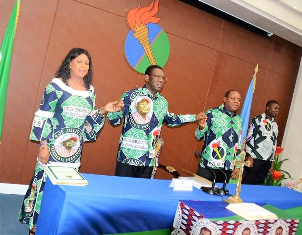 Siguen las reuniones de la Junta Ejecutiva del PDGE para aprobar los resultados de las elecciones internas