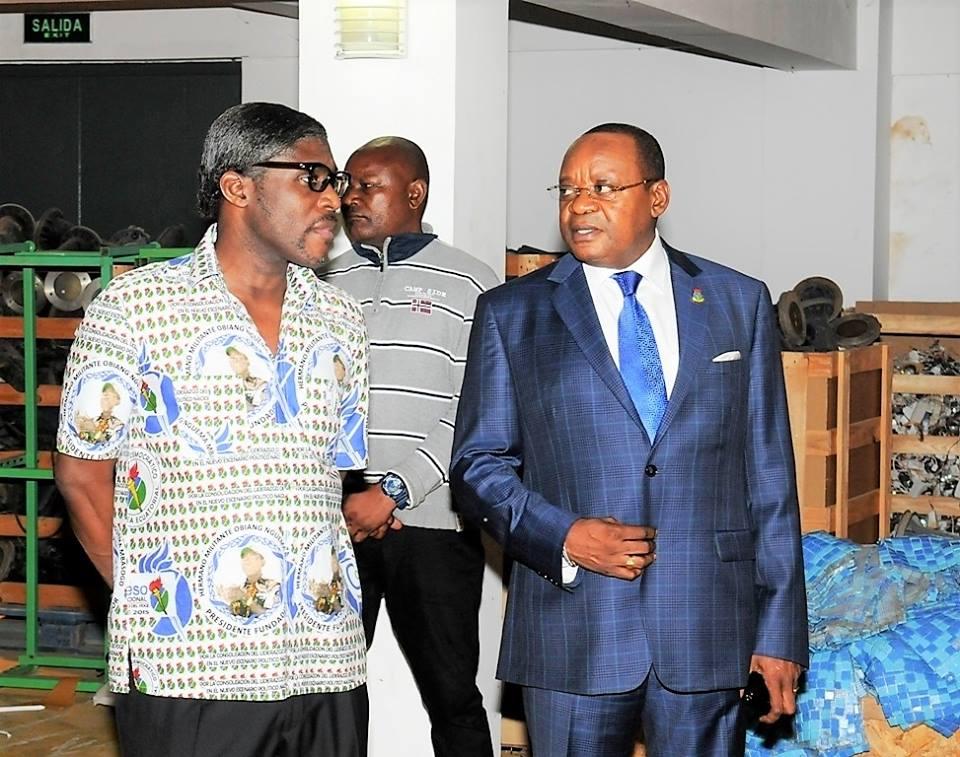 Llega el material de campaña del Partido Democrático de Guinea Ecuatorial