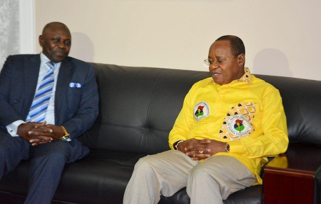 Osa Osa Ecoro recibe al Embajador de Guinea Conakry