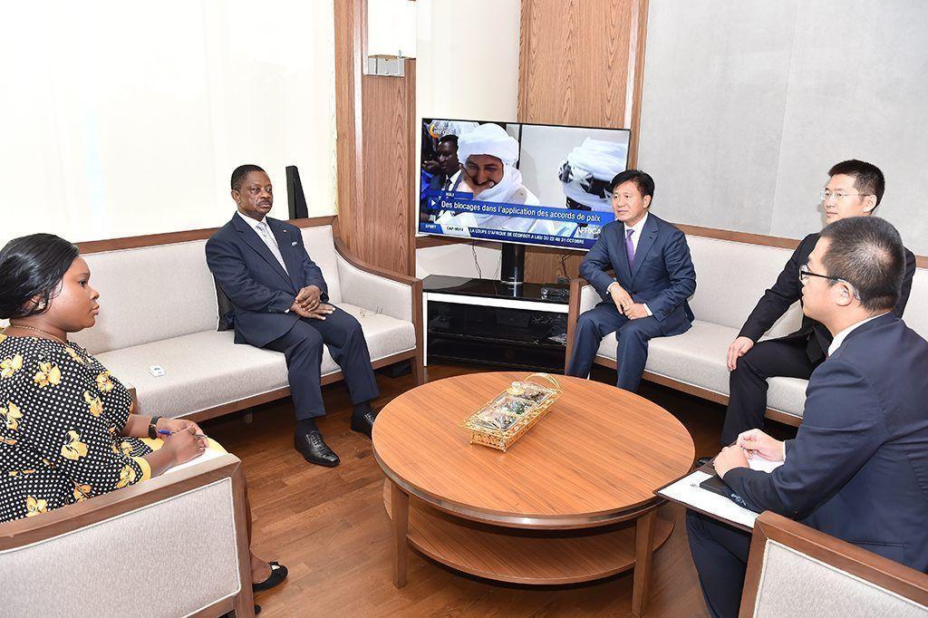 Reunión de Obama Asue con el embajador chino