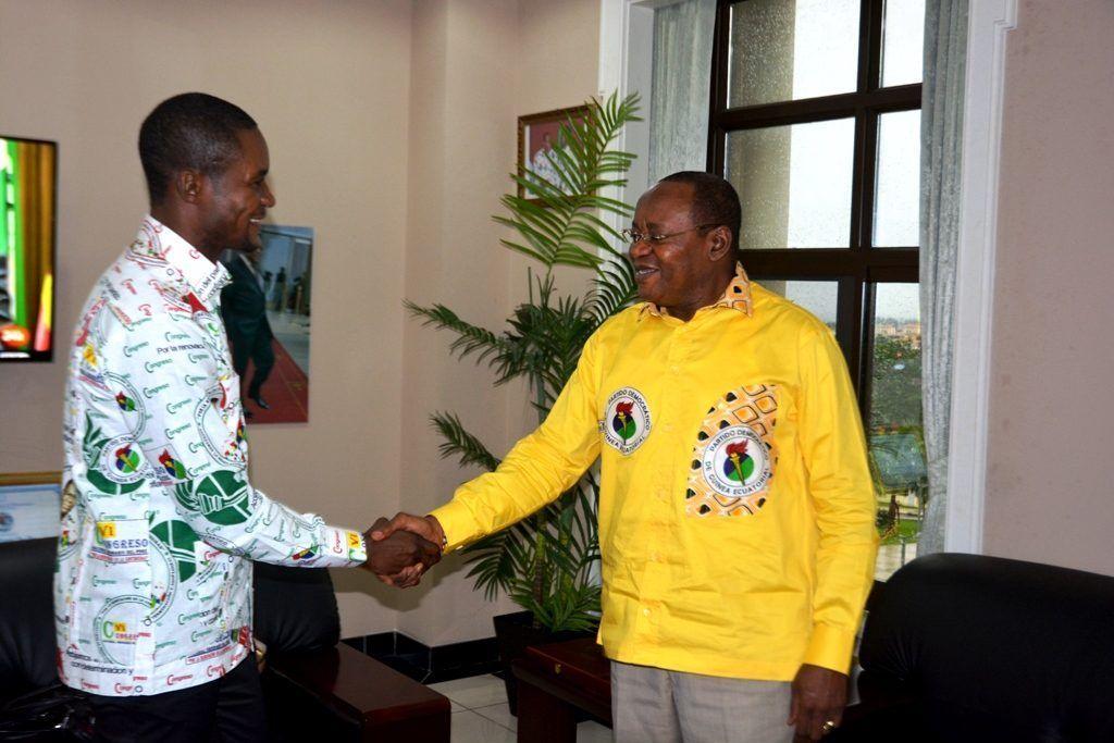 Reunión entre el Secretario General del PDGE y el nuevo Coordinador de ASHO