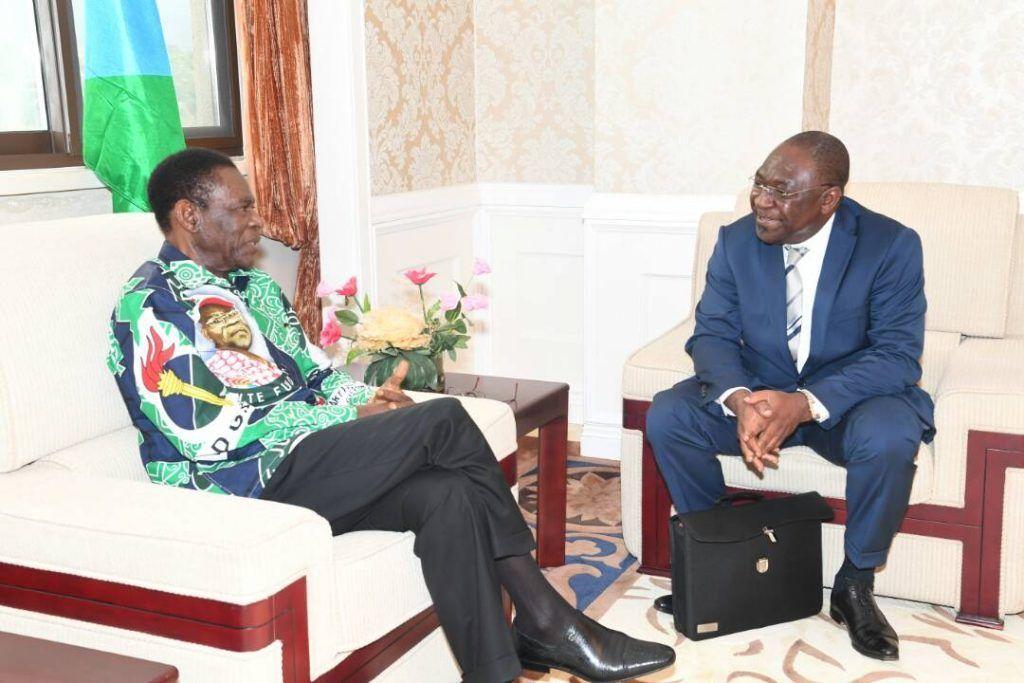 El Presidente concede audiencia al Secretario de GABAC