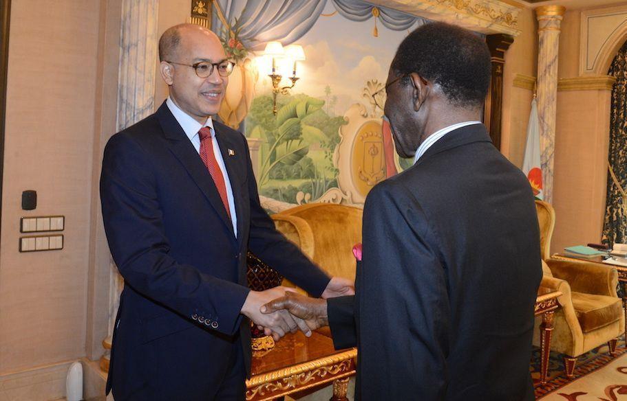 Encuentro con el Embajador de Francia