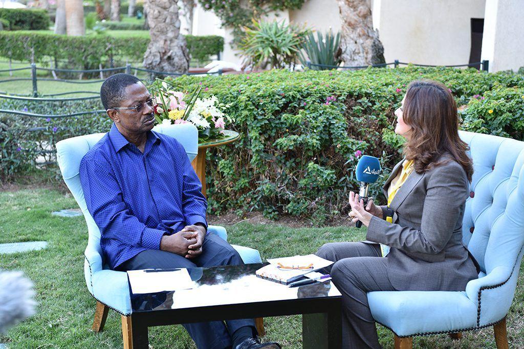 El Primer Ministro, entrevistado por un canal de televisión egipcio