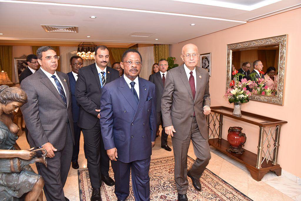 Reunión entre los Primeros Ministros de Guinea Ecuatorial y Egipto