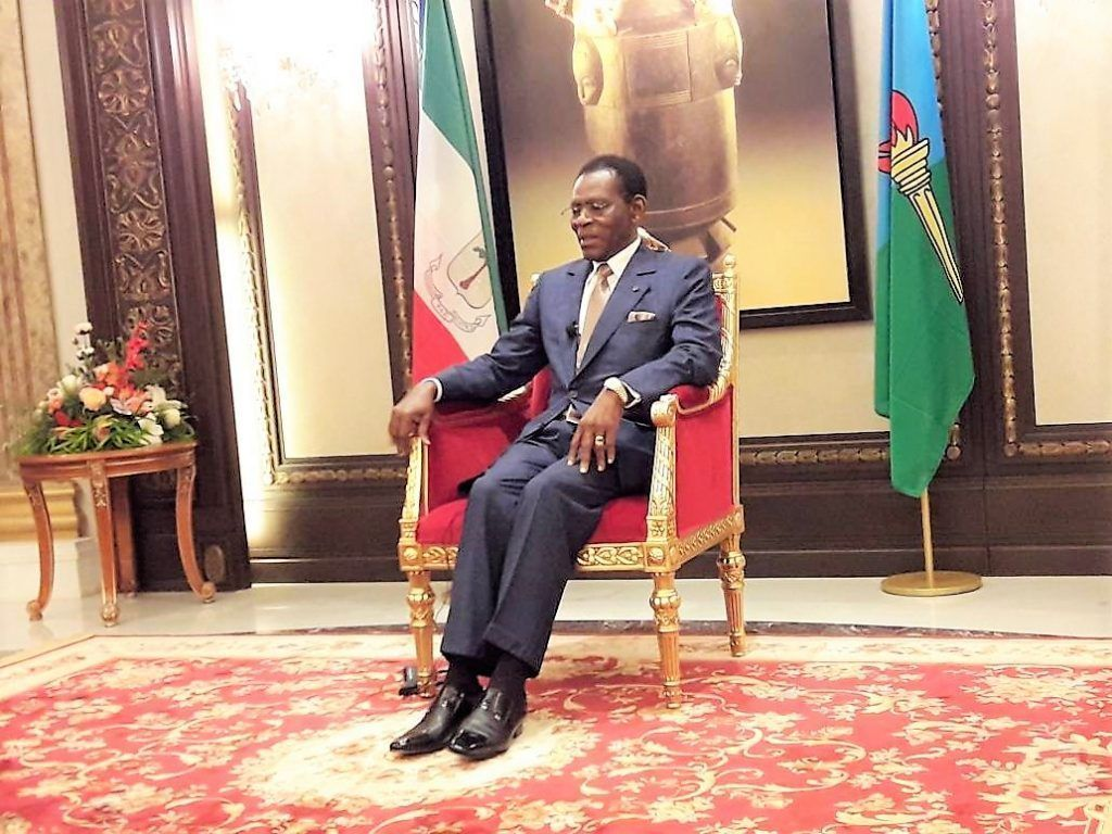 Entrevista del Jefe de Estado en Africa Media
