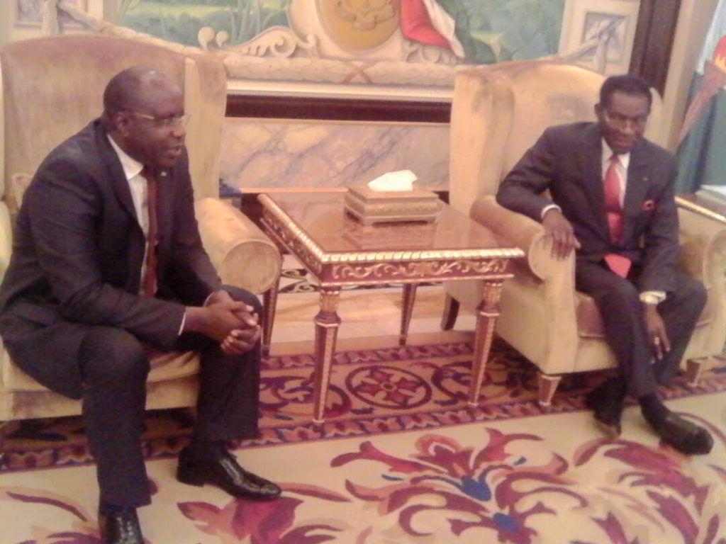 El Presidente recibe a los observadores de la UA y la CPLP para las elecciones del día 12
