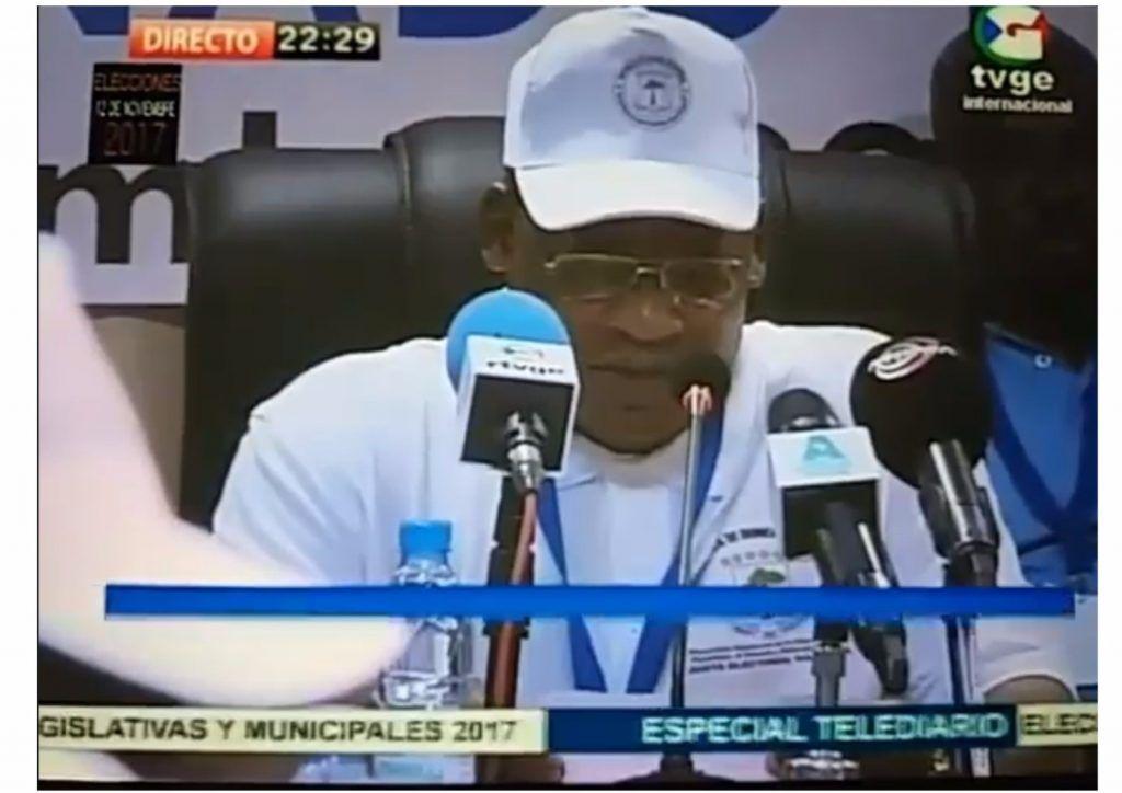 Los primeros resultados parciales de las elecciones municipales apuntan a la victoria del PDGE