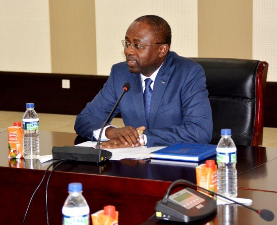 Reunión de Mba Mokuy con los embajadores