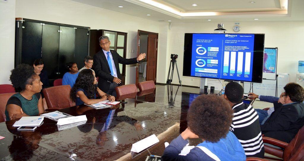 Presentación del informe de UNICEF sobre Niños en un mundo digital