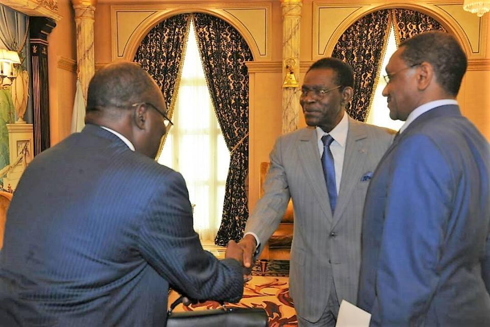 El Presidente ha inaugurado su agenda de este año 2018 con la reunión con un enviado de su homólogo chadiano