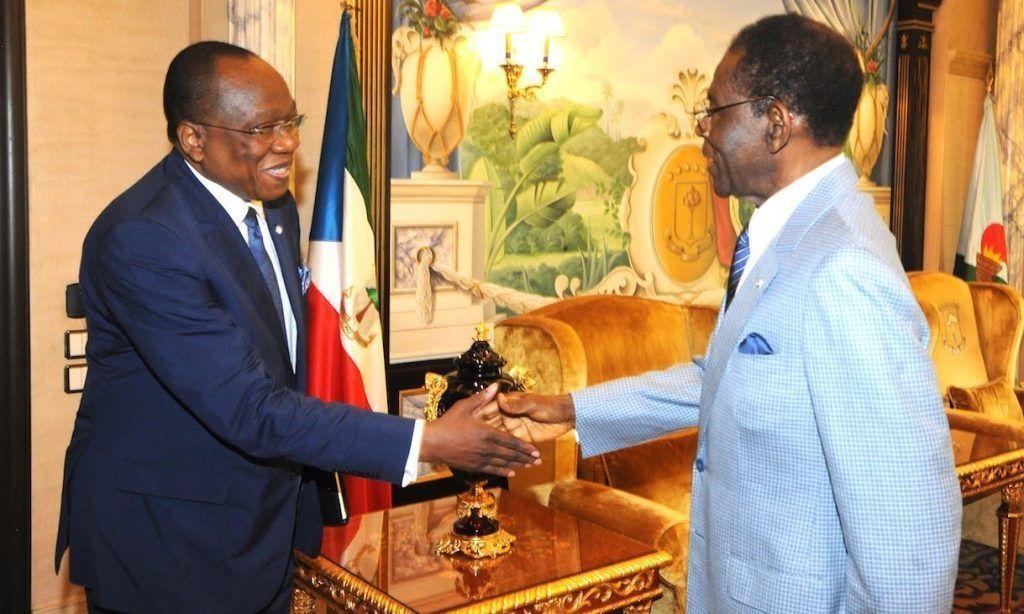 El Enviado Especial de Naciones Unidas, François Lounceny Fall, se reúne con el Presidente
