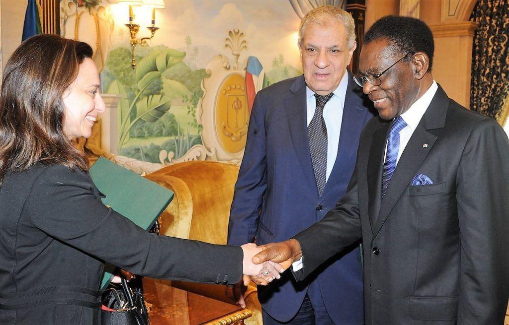 Una delegación egipcia visita al Presidente