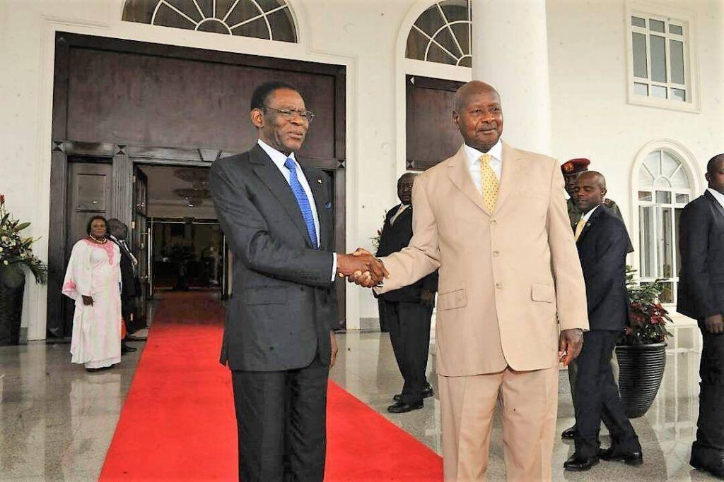 Viaje presidencial de trabajo a Uganda