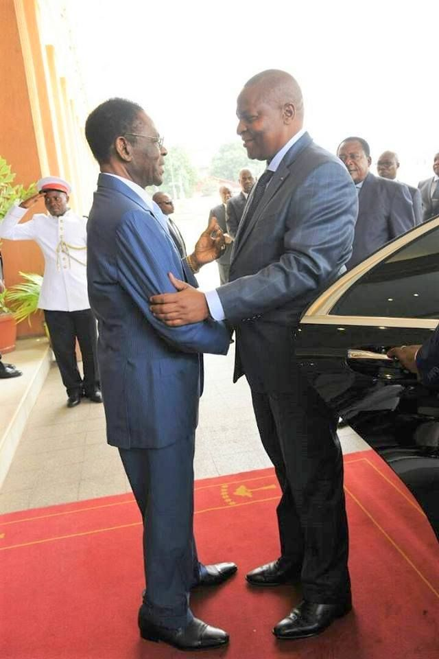 Visita del Presidente de República Centroafricana