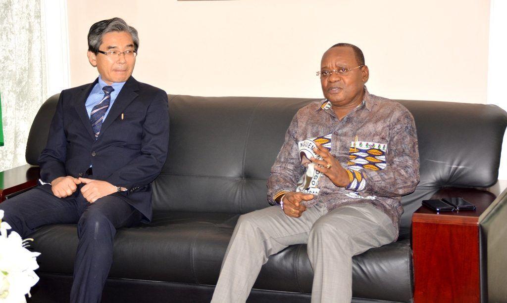 El Secretario General se reúne con el Embajador de Corea del Sur