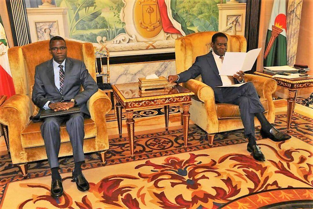 El Gobierno de Gabón expresa ante el Presidente su preocupación por la tentativa desestabilizadora en Guinea Ecuatorial