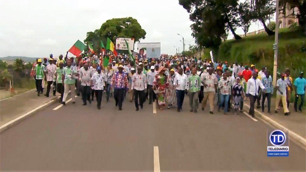 Manifestación de repulsa en Cogo