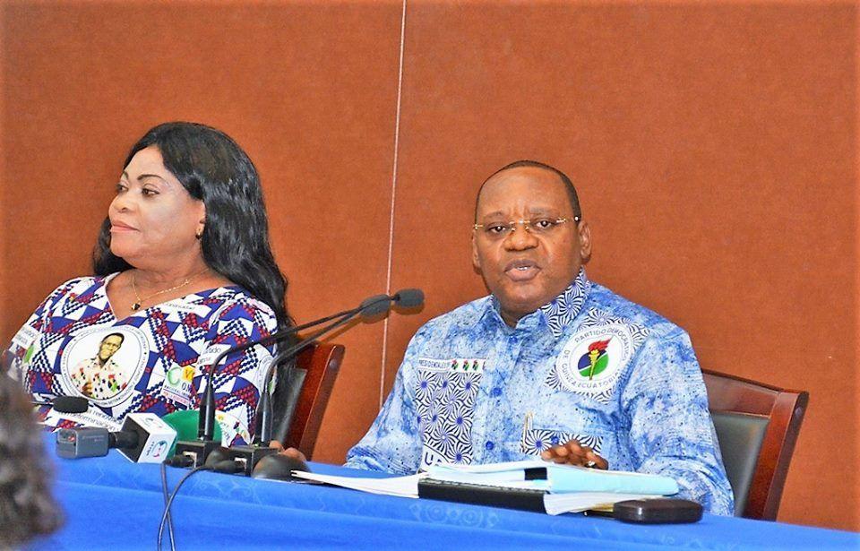 Osa Osa Ecoro preside la primera reunión del año con los responsables de las estructuras distritales del partido