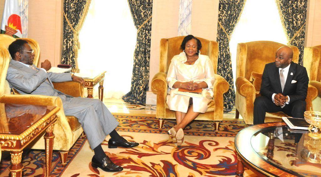 Audiencia del Jefe de Estado con los Presidentes de la Cámara de los Diputados y el Senado