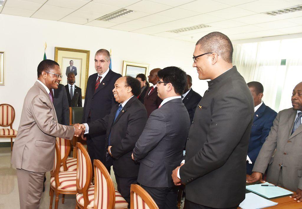 Reunión del Primer Ministro con una delegación de la República Bolivariana de Venezuela
