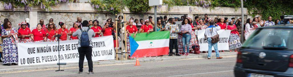 Éxito total de la convocatoria en Madrid a favor de la paz en Guinea Ecuatorial