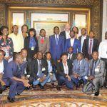 La prensa entrevista a S. E. Obiang Nguema Mbasogo