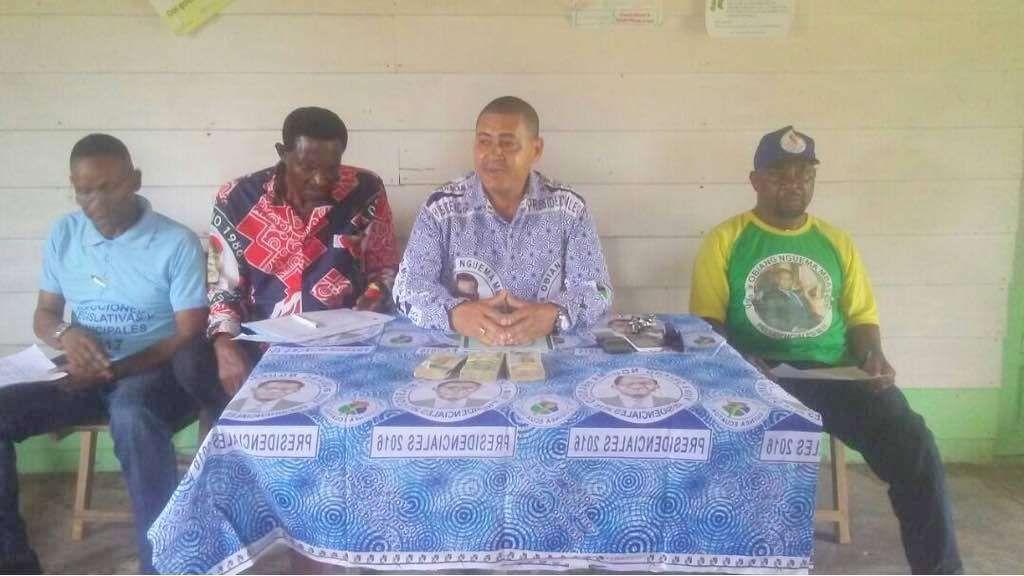 Mbini, siguiente etapa en la gira del Consejo Distrital del PDGE