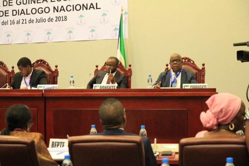 Tercera jornada de la Mesa del Diálogo en Sipopo