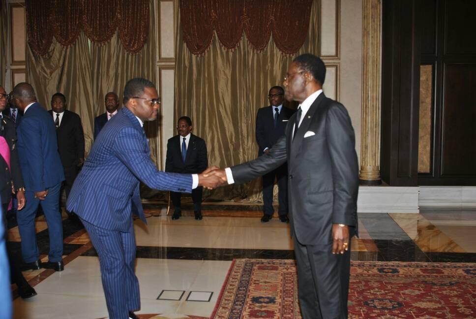 El Jefe de Estado preside la jura de cargos de la administración