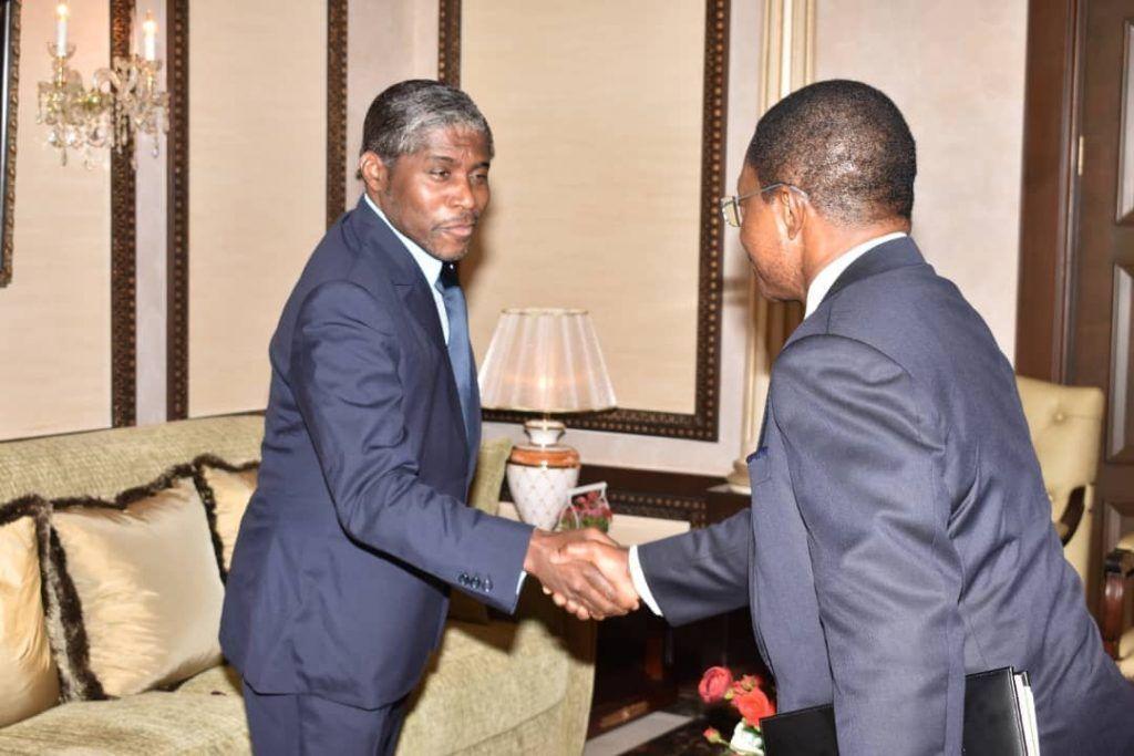 Reunión del Vicepresidente con el Primer Ministro