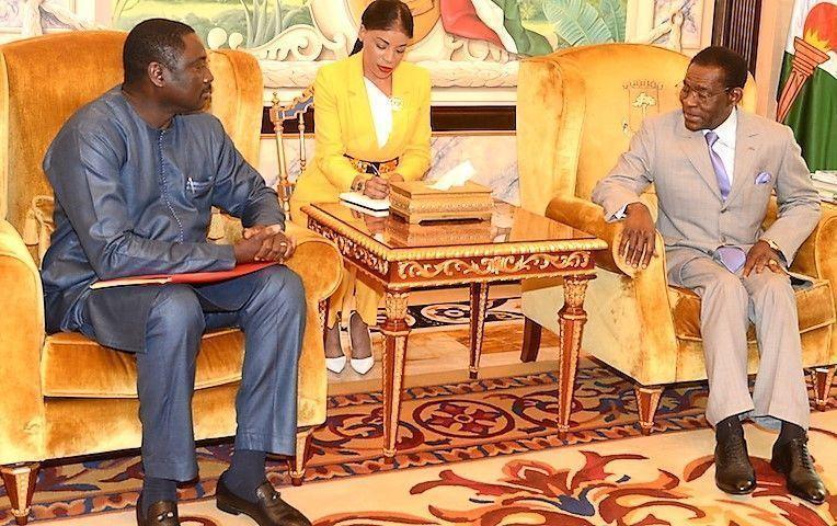 El Presidente de la República recibe al Ministro de Asuntos Exteriores de Gambia