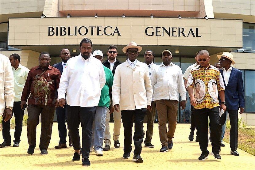 El Jefe de Estado visita la Universidad Afroamericana y otras obras de la Ciudad de la Paz