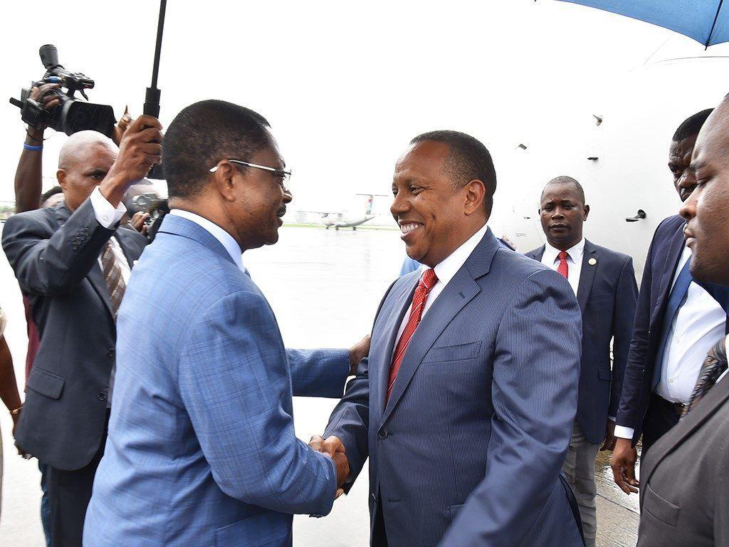 Visita del Primer Ministro de Sao Tomé e Príncipe