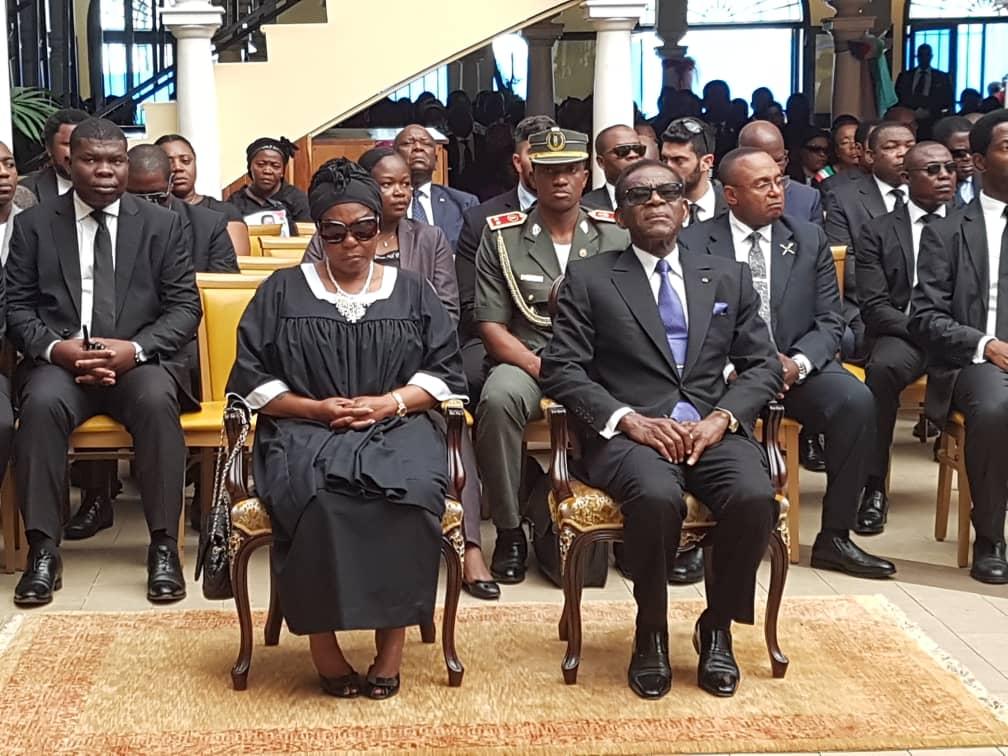 Funeral de Estado del magistrado Maximiliano Micha Nguema
