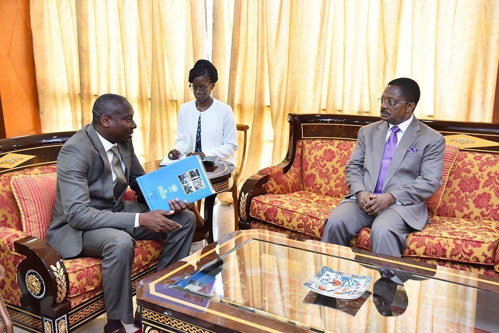 El Primer Ministro recibe al Director del Centro Regional de las Naciones Unidas para la Paz