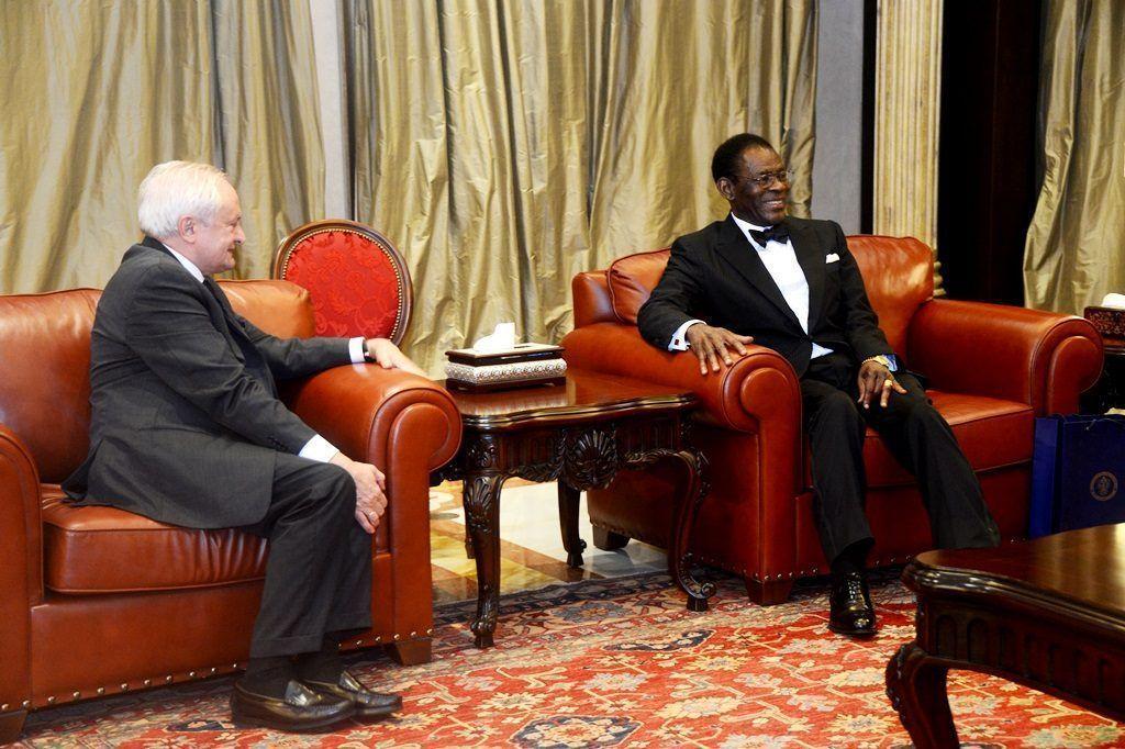 El Jefe de Estado concede audiencias a las delegaciones de Marruecos, Rusia y España