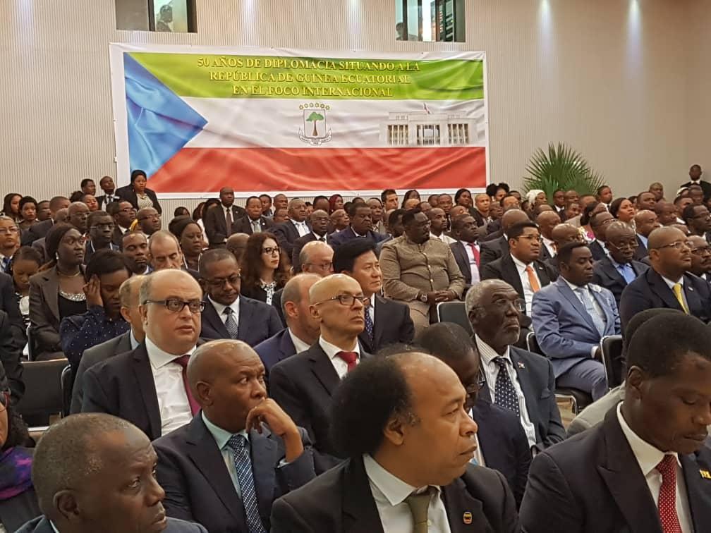 Comienza la VII Conferencia Diplomática bajo la presidencia de S. E. Obiang Nguema Mbasogo