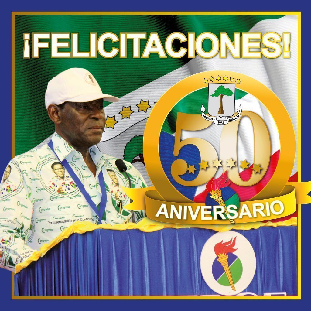 ¡Felicitaciones por nuestro 50º Aniversario!