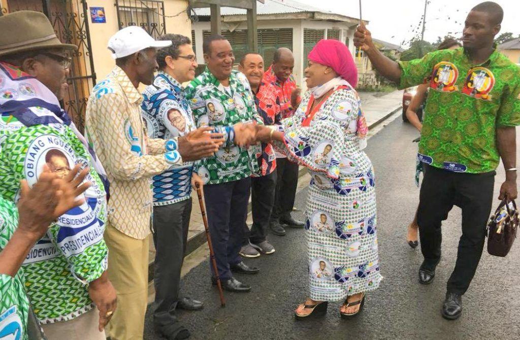 Continúa la gira de Jesusa Obono Engono y la OEMPDGE en Batoicopo