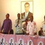 Reunión del PDGE en Mongomo