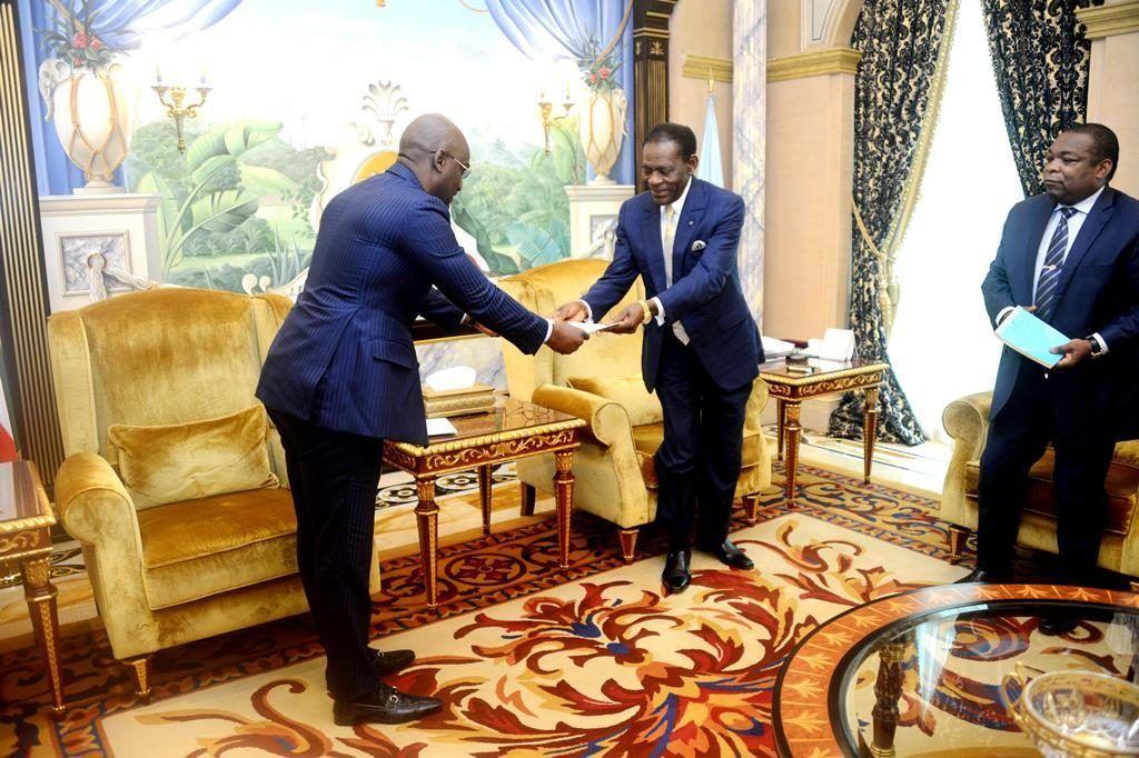 Audiencia del Presidente con el Enviado Especial del Jefe de Estado de Burundi
