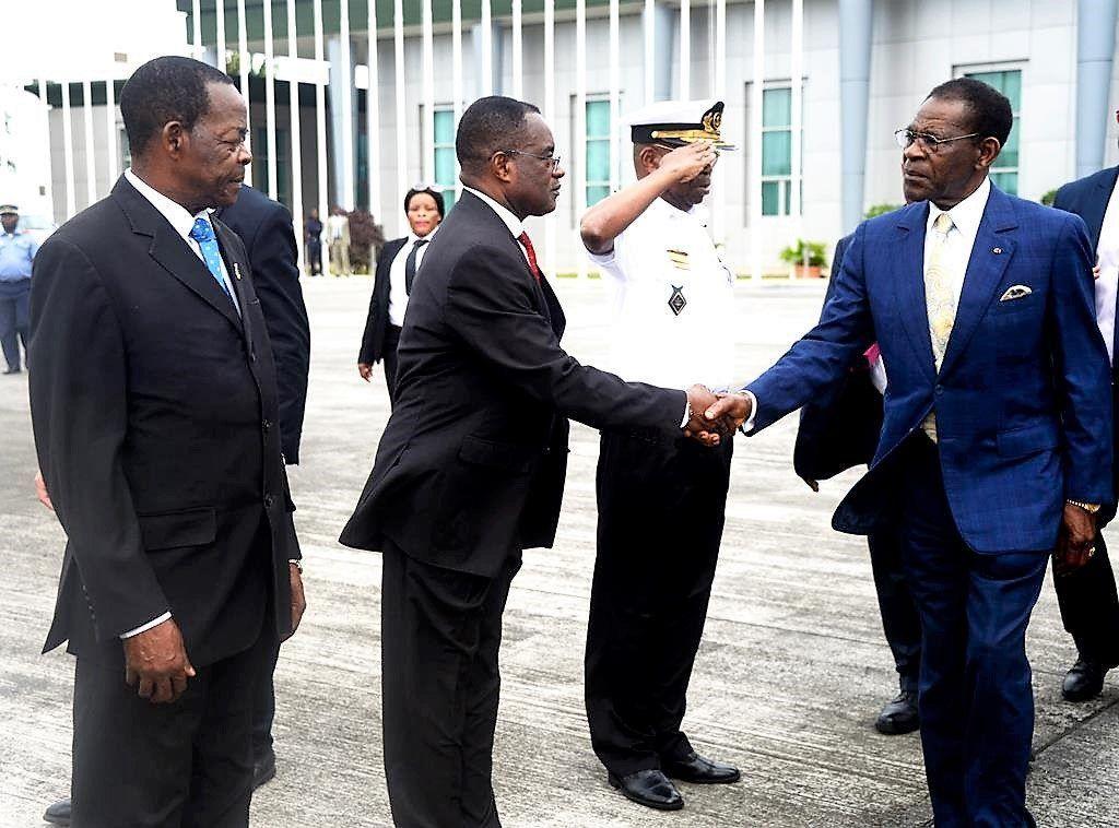 El Presidente de la República, S.E. Obiang Nguema Mbasogo, se ha trasladado este viernes a la Región Continental