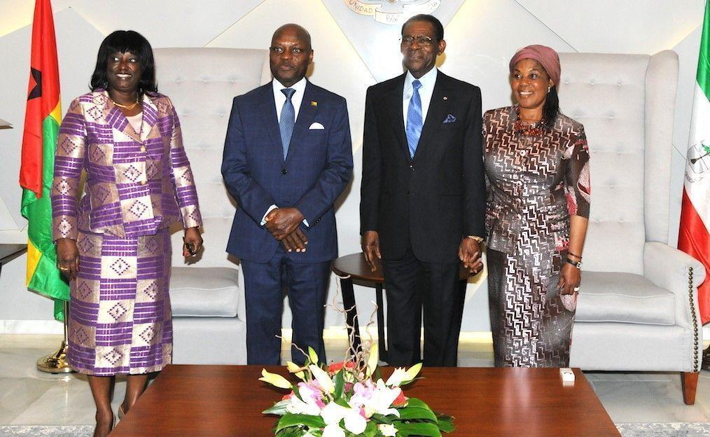 Visita oficial de la Pareja Presidencial de Guinea Bissau