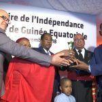 Entrega del Galardón de Africanidad a S. E. Obiang Nguema Mbasogo